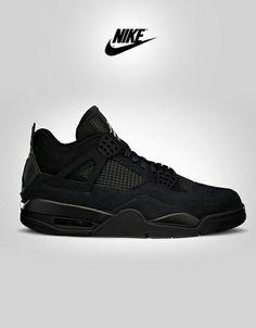 da9ce148b9f3 All black Jordan Nike Air Jordans, Nike Air Max, Спортивная Одежда, Обувь  Nike