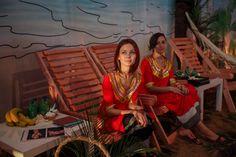 Maldives themed wedding, Mehendi