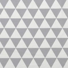 Moderne Stoffe baumwolle gebürstet magische dreiecke stoff stil fabric