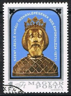 acceso al trono del Rey San Ladislao (CTO) Rey, Stamps, Baseball Cards, Seals, Postage Stamps, Stamp