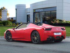 Ferrari 458 Italia Spider £229,950