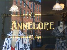 Glass Gold Leaf for Annelore in New York, NY by www.roycesignworks.com