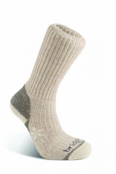 Bridgedale Womens Trekker Socks Natural Medium -- Be sure to check out this awesome product.(This is an Amazon affiliate link and I receive a commission for the sales)