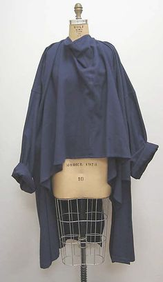 Jacket Yohji Yamamoto  (Japanese, born 1943) Date: fall/winter 1981–82  Culture: Japanese  Medium: wool