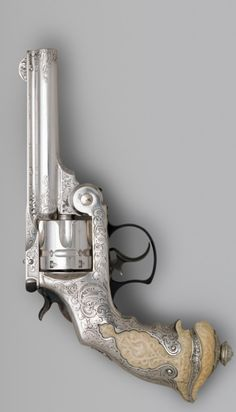 Smith and Wesson .44 Double-Action Revolver for George Jay Gould (1864–1923), serial no. 23402