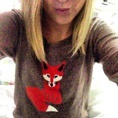 Red Fox Sweater | #Marist