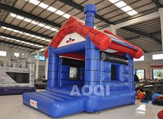 inflatable Cabin bouncer, inflatable bounce toys, inflatable bouncy house