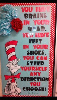 grinch+bulletin+board+ideas | Dr. Seuss bulletin board