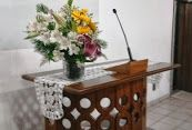 Trilho para o púlpito
