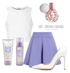 """""""Ari by Ariana Grande"""" by amazinggrace31 ❤ liked on Polyvore featuring Glamorous, Chicwish, Gianvito Rossi, women's clothing, women's fashion, women, female, woman, misses and juniors"""