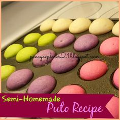 Semi- Homemade Baked PUTO/ Rice Cakes Recipe           Weekends is here! and It's Valentines Day a perfect day to have a dinner date with y...