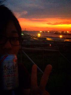 """ちばぎんさんはTwitterを使っています: """"現地組配信組お疲れ様ですたー!!tokyoislandさいこー!!! スーパー気持ち良いぜこのやろー!! この後大阪まで運転頑張るよっ!!! http://t.co/TzYxtuDvFB"""""""