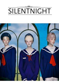 Male School Sailor Uniform Top for The Sims 4