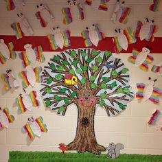I used the Big Tree Kid Drawn CD-3257 set and the grass big border set CD-110072 for a hallway display for our Spelling Tests.  We made butterflies from recycled wrapping paper sent with our order!!! The kiddos love this set because it looks like it has been drawn by kids. I participate in the Brand Ambassador Program for Carson-Dellosa and received these products free to try and review.  I love both of these sets!