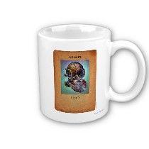 Steampunk Diver's Helmet Coffee Mug by Paul `Stickland for StrangeStore #steampunk