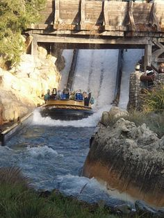 Grizzly River Run, California Adventure -Tip: This ride is on an independent stand alone Fast Pass system so you can get a fastpass here even when you are blocked from getting other fastpasses