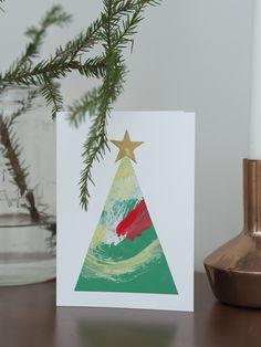 joulukortti askartelu
