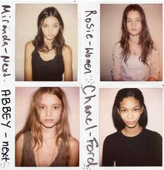 i like that they still look great. usually people just look at models without makeup and stuff to see how bad they look, but that's really backwards isn't it? #beauty