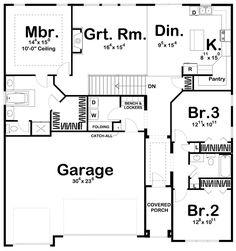 Farm Bedroom, Home Decor Bedroom, Best House Plans, House Floor Plans, 1 Story House, Nailart, Log Cabin Furniture, Wooden Furniture, Antique Furniture