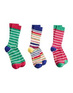 Joules Womens Bamboo Socks Set, Rasberry Pink.                     Good socks come in threes! These socks are made with bamboo, which has more benefits than you can shake a stick at such as being hypoallergenic, thermo-regulating and other long, scientific-sounding words.