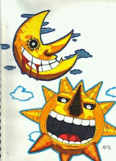 Soul eater moon and sun