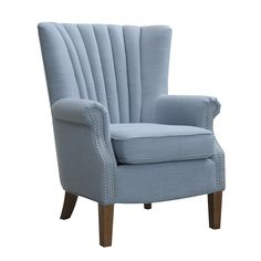 Audrey Occasional Chair Blue Far Pavilions, on special $499.