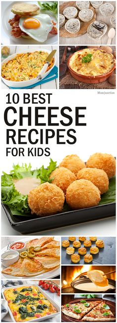 10 Best Cheese Recipes For Kids