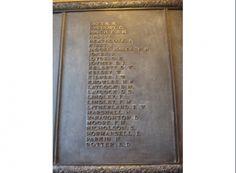 Barnsley - Holgate Grammar School plaque