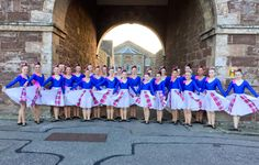 "From Claire Bryce: ""Thank you from the Inverness Choreography Group at the Highland Military Tattoo 2015 at Fort George, we loved the Bonnie Blush Tartan and had lots compliments. X"""
