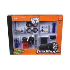 Tire Repair Shop Accessories Set Ford 1/24 Diecast Model Cars by Phoenix Toys Garage Accessories, Accessories Shop, Tire Storage Rack, Buy Tires, Garage Repair, Tyre Shop, Star Wars, Repair Shop, Diecast Model Cars