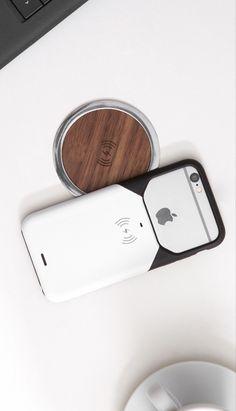 Беспроводная зарядка receiver wireless charger iPhone 5 5s 5c 6 6s plus Украина
