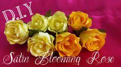 D.I.Y. Satin Blooming Rose Tutorial | MyInDulzens