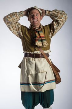 """Brian Vaughn as the Baker in Utah Shakespeare Festival's 2014 production of """"Into the Woods."""" (Photo by Karl Hugh. Copyright 2014 Utah Shakespeare Festival.) www.bard.org"""