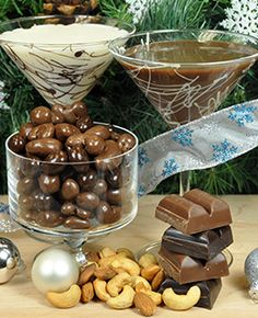 Very easy Thanksgiving & Christmas entertaining! Very Merry Martinis - DOVE Chocolate Discoveries ~Toni Lynn Smith, Independent Chocolatier