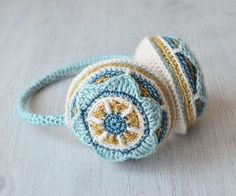 [Free Pattern] Seriously Cute Earmuffs To Keep You Warm Every Day - Knit And Crochet Daily