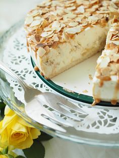 Baking Recipes, Cake Recipes, Frozen Cheesecake, Good Food, Yummy Food, Sweet Bakery, Sweet And Salty, Desert Recipes, No Bake Desserts