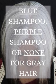 Shampoo For Gray Hair, Purple Shampoo, White Hair Highlights, Grey Hair Looks, Grey Hair Care, Gray Hair Growing Out, Blonde Pixie Cuts, Transition To Gray Hair, Brunette Color