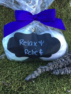 Relax and Relief Therapeutic Bath Bomb Duo!