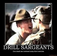 The hair on my son's neck still stands up when he hears a Drill Instructor! Ooh-Rah for all our Marine DI's, they make Marines Army Humor, Military Humor, Military Life, Army Life, Army Memes, Marine Corps Humor, Us Marine Corps, Once A Marine, Marine Mom