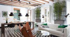 Coup de coeur du jour pour cet appartement style vintage... Vintage oui, mais très étudié! On visite?