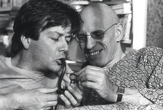 Michel Foucault and lover Daniel Defert