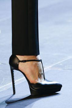 Yves Saint Laurent S/S 2013  #designer shoes