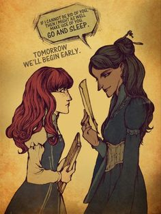 Fan art of Shallan and Jasnah from The Way of Kings by Brandon Sanderson.