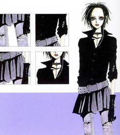 Nana by Yazawa Ai Anime Outfits, Cute Outfits, Yazawa Ai, Nana Manga, Nana Komatsu, Nana Osaki, Character Outfits, Anime Style, Japanese Fashion