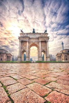 Porta Sempione, Mila
