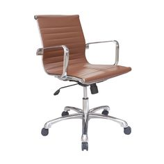 desk chair brown leather plastic beach chaise lounge chairs 9 best mid century classic office designs images milo modern contemporary