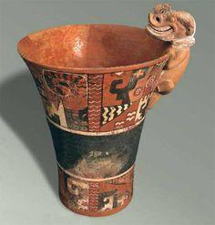 Pariti Tiahuanaco South American Art, Inca Empire, Treasure Island, Ancient Art, Bolivia, Art And Architecture, Ceramic Pottery, Archaeology, White Collar