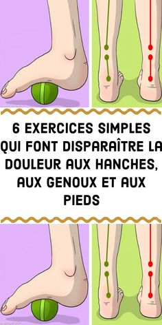 6 simple exercises that remove the pain in the hips at the knees and feet - Mary Martinez Health Trends, Health Tips, Sixpack Training, Workout Bauch, Human Services, Yoga, Trauma, Natural Medicine, Easy Workouts