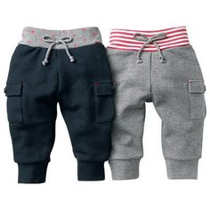 Baby clothes autumn and winter children baby thick dual-use file trousers newborn trousers open file thickening long trousers