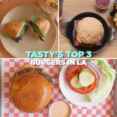 Tasty's Top 3 Burgers in LA
